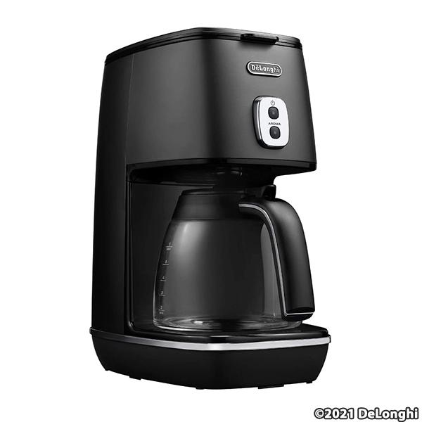 デロンギ(DeLonghi) ディスティンタコレクション ドリップコーヒーメーカー ブラック ICMI011J-BK